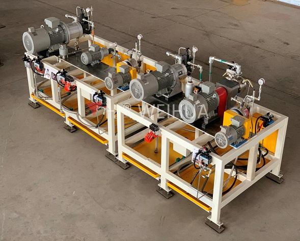 Four Components PU Foaming Machine